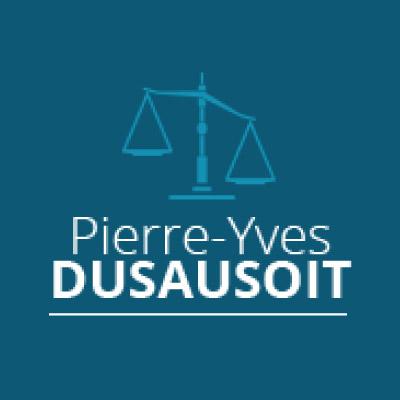 Maitre Pierre-Yves DUSAUSOIT Avocat Mons Ath Logo